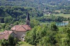 L'Eglise St Jean Baptiste à St Jean de Chevelu