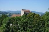 La Maison Forte de Prélian au dessus de l'Eglise St Jean Baptiste