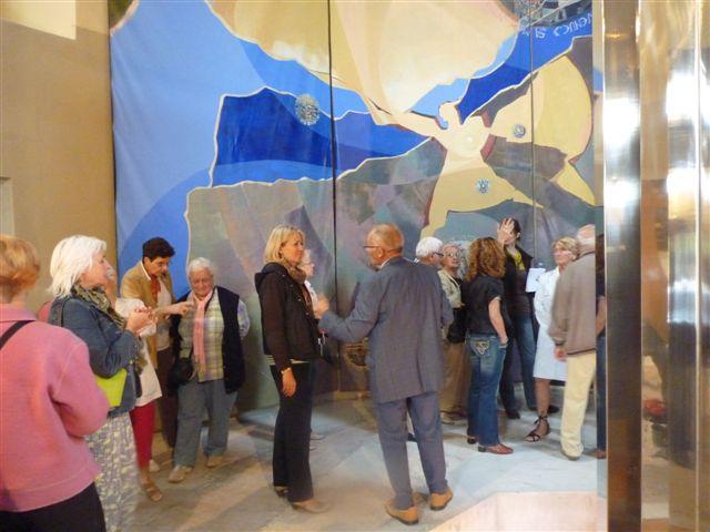 visite commentée par l'artiste Béatrice Signorelli